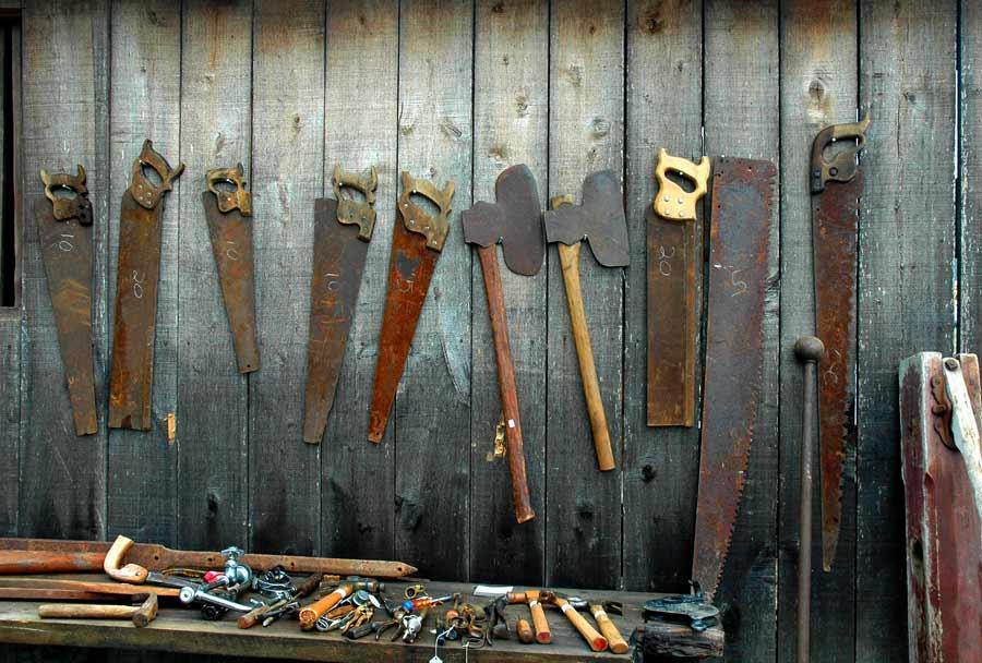 Fini la rouille sur les outils ecolo 39 trucs astuces le de la r union tooticy - Comment nettoyer la rouille ...