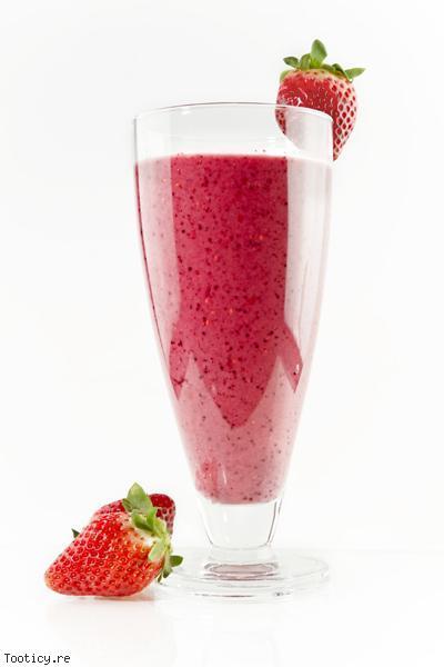 smoothie la fraise cuisine trucs astuces le de la r union tooticy. Black Bedroom Furniture Sets. Home Design Ideas