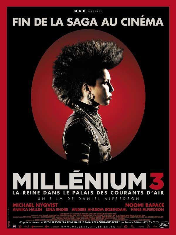 Millénium 3 - La Reine dans le palais des courants d'air - cinema reunion
