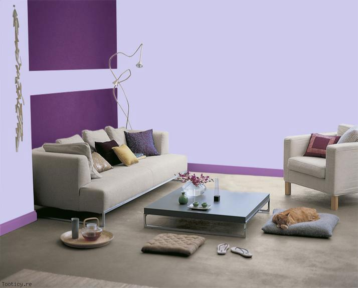 le violet est tendance en int rieur d co magazine le de la r union tooticy. Black Bedroom Furniture Sets. Home Design Ideas