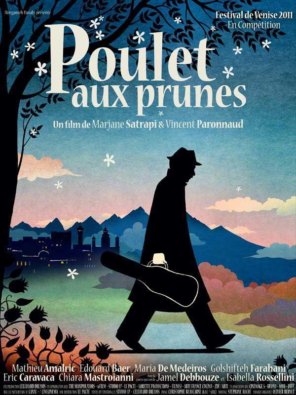 Poulet aux prunes - cinema reunion