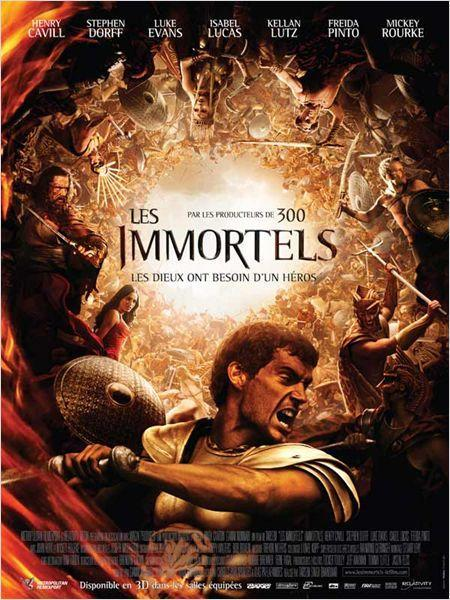 Les Immortels - cinema reunion