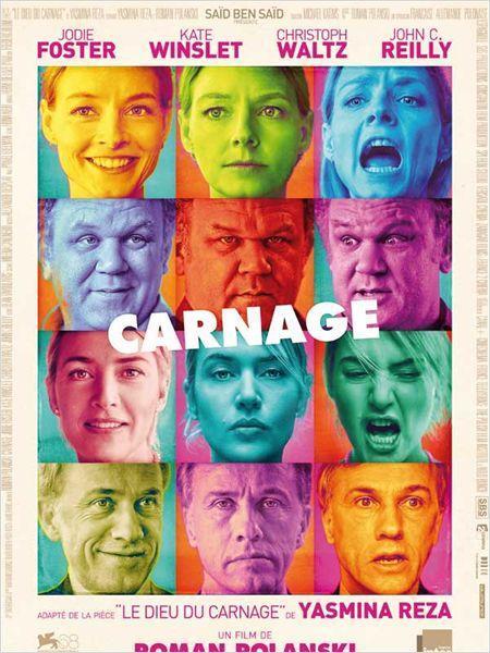 Carnage - cinema reunion