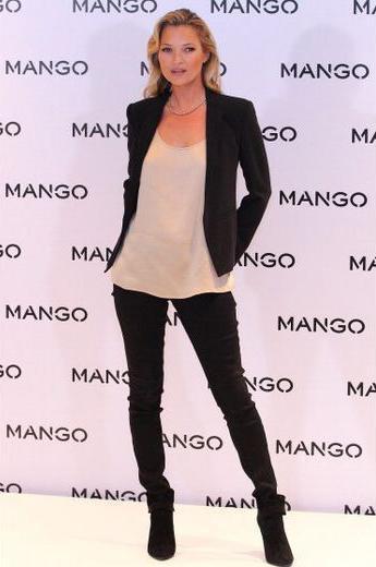 7a4c7082850f Kate Moss   la nouvelle égérie de Mango pour cet été 2012