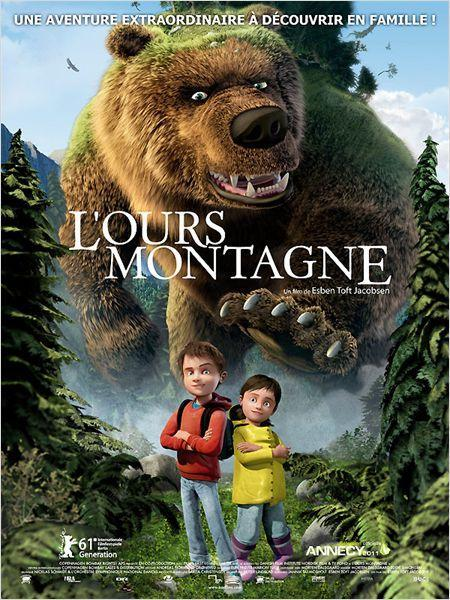L'ours Montagne - cinema reunion