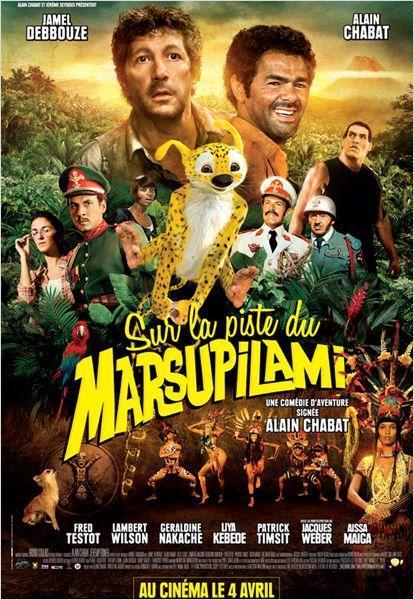 Sur la piste du Marsupilami - cinema reunion