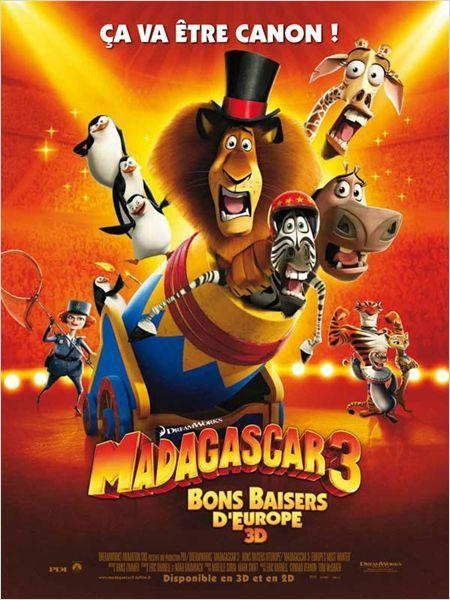 Madagascar 3, Bons Baisers D'Europe - cinema reunion