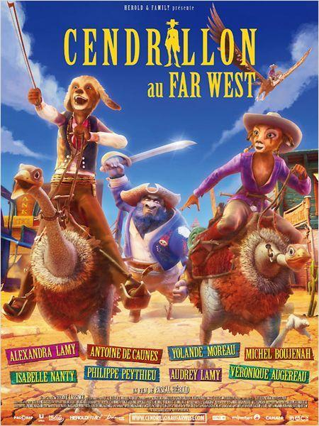Cendrillon au Far West - cinema reunion