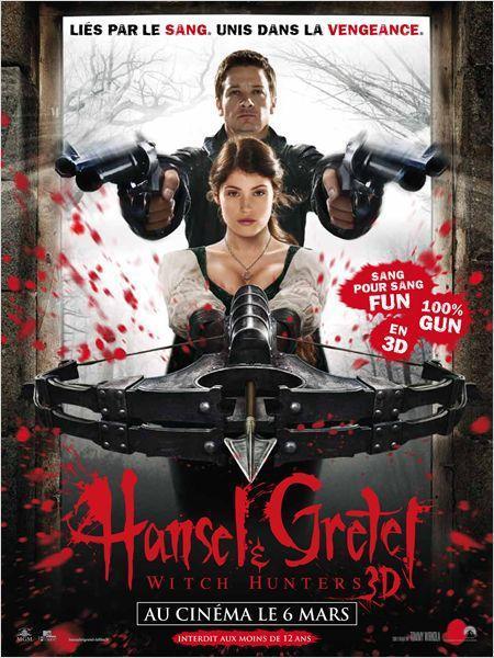 Hansel & Gretel : Chasseurs de sorcières - cinema reunion