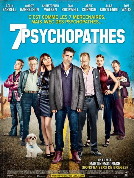 7 Psychopathes - cinema reunion