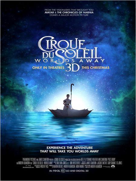 Cirque du Soleil 3D : le voyage imaginaire - cinema reunion