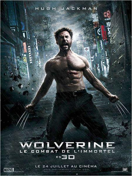 Wolverine : le combat de l'immortel - cinema reunion