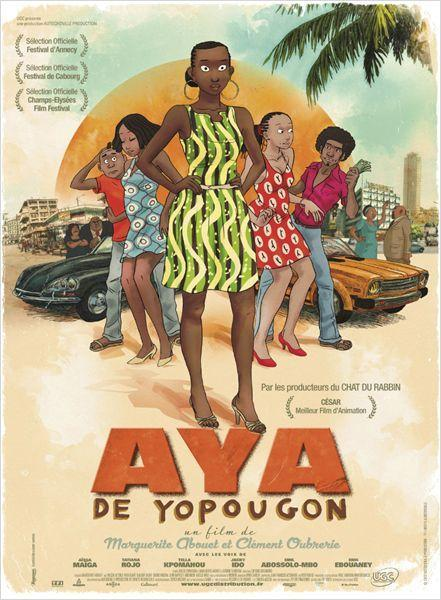Aya de yopougon - cinema reunion