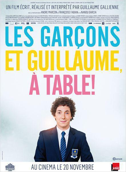 Les Garçons et Guillaume, à table ! - cinema reunion