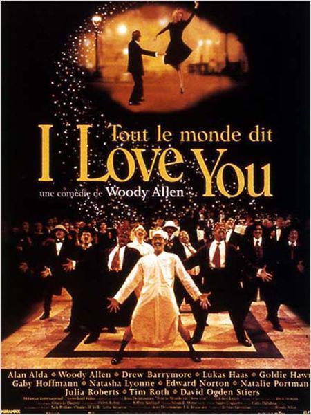 Tout le monde dit I love you - cinema reunion