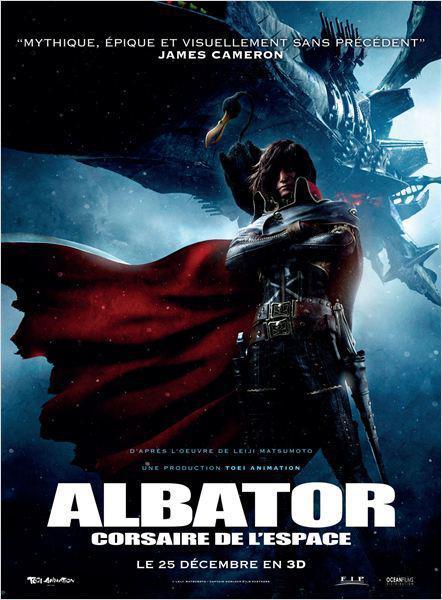 Albator, Corsaire de l'Espace - cinema reunion