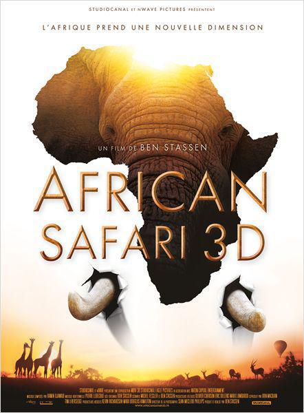 African Safari 3D - cinema reunion