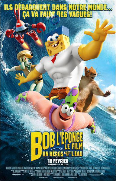 Bob l'éponge - Le film : Un héros sort de l'eau - cinema reunion