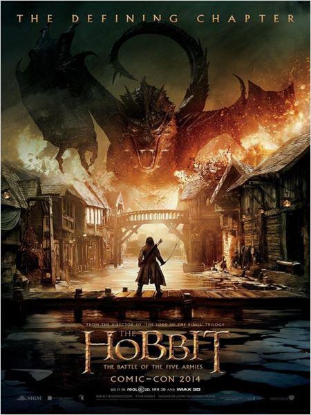 Le Hobbit : la Bataille des Cinq Armées - cinema reunion