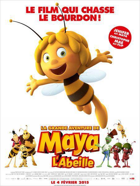 La Grande aventure de Maya l'abeille - cinema reunion
