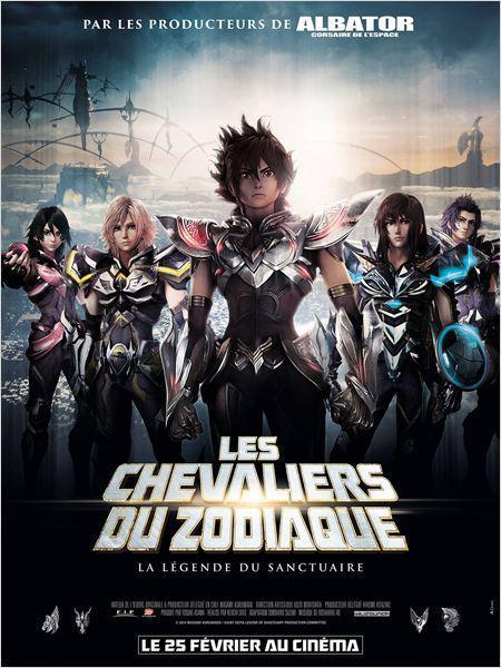 Les Chevaliers du Zodiaque - La Légende du Sanctuaire - cinema reunion