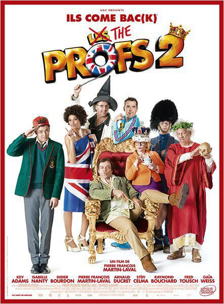 Les Profs 2 - cinema reunion