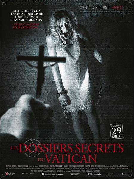 Les dossiers secrets du Vatican - cinema reunion