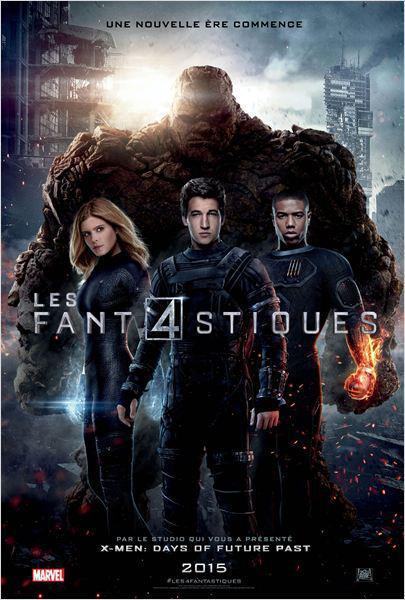 Les 4 Fantastiques - cinema reunion