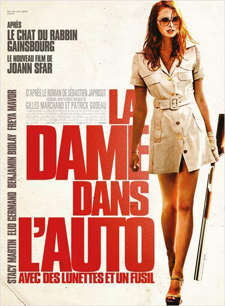 La Dame dans l'auto avec des lunettes et un fusil - cinema reunion