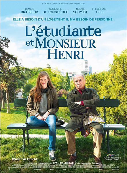 L'Etudiante et Monsieur Henri - cinema reunion