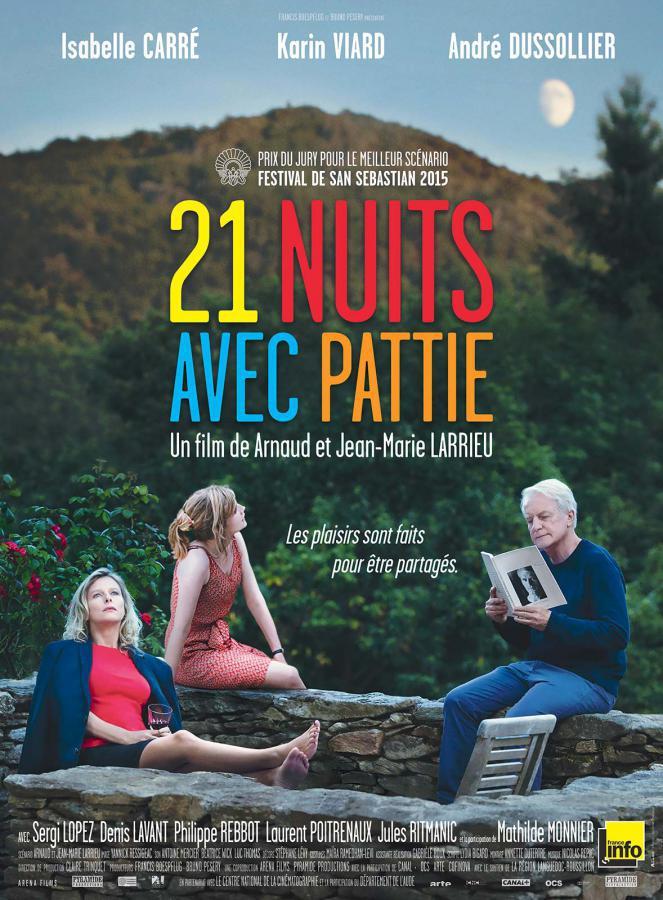 21 nuits avec Pattie - cinema reunion