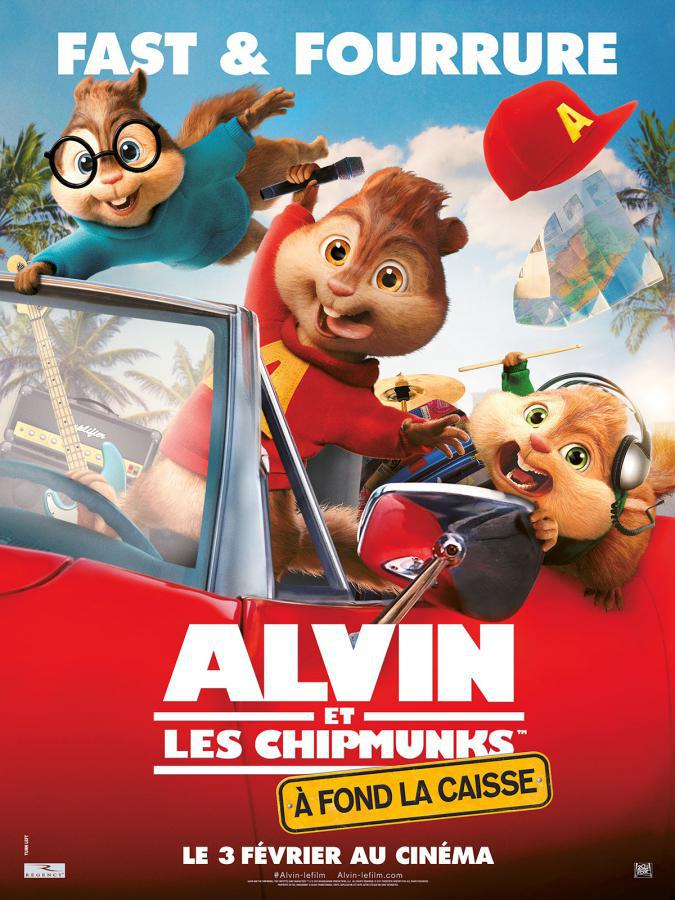Alvin et les Chipmunks - A fond la caisse - cinema reunion