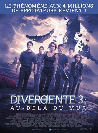 Divergente 3 : Au-delà du mur - cinema reunion