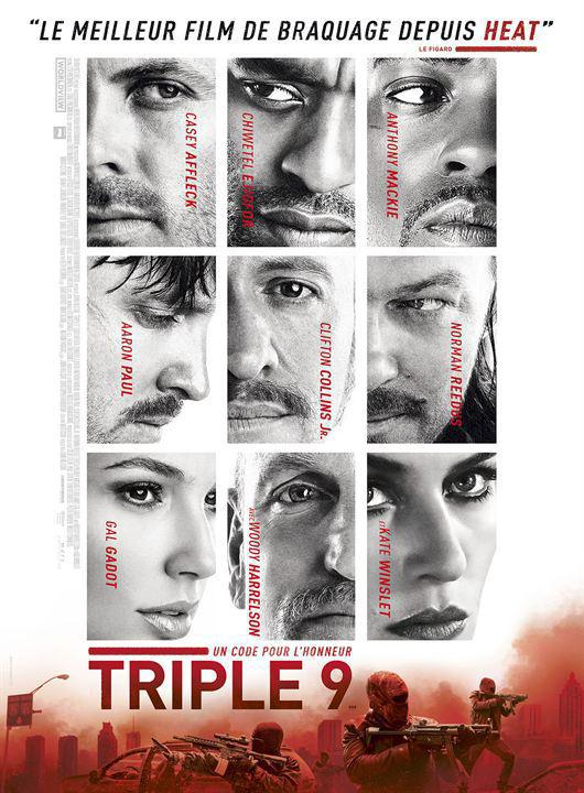 Triple 9 - cinema reunion
