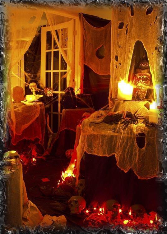 Halloween maison hant e d co magazine le de la - Deco chauve souris halloween ...